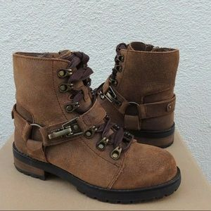 Uggs lace up winter boots